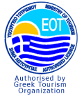 Approved by the Ministry of Tourism & the Greek National Tourism Organization